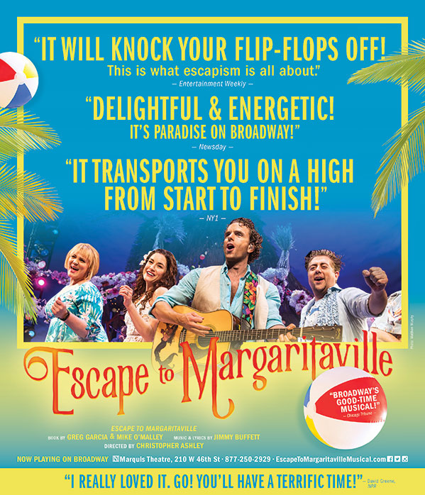 """Escape To Margaritaville"" Pop Up Event"