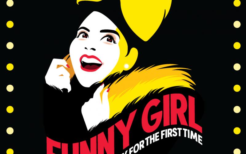 Funny Girl broadway show logo